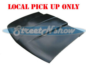 94 04 Chevy Gmc S10 Sonoma Truck 2 Cowl Induction Hood Steel Tapered Cowl