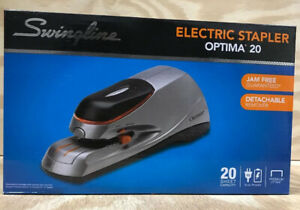 Swingline Optima 20 Electric Stapler 20 Sheets Capacity Silver swi48208