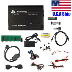 Usa Ship 0386 Fgtech Galletto 4 Master V54 Bdm Obd Function Operate On Windowsxp