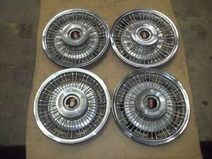 1968 68 Oldsmobile F85 Cutlass Hubcap Wheel Cover Wire Spoke 14 Oem Used 4006 4