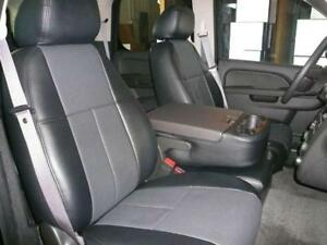 Chevy Tahoe Suburban Black Clazzio Synthetic Leather Seat Covers