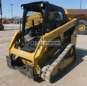 2017 Caterpillar 249d Track Skid Steer Loader Cat 249