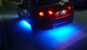 Under Car Led Strip Bar Underbody Underglow Glow Blue Light Auto Accessories