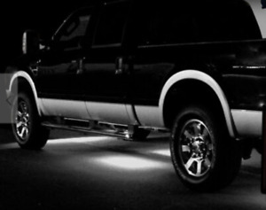 Led Lights Underbody Glow Under Car White Neon Accent For Chevy Silverado