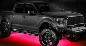 Led Lights Underbody Glow Under Car Red Neon Accent For Chevy Silverado
