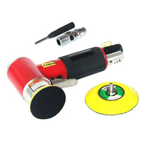 2 3 Mini Air Sander Kit Eccentric Orbital Dual Action Polishing Buffing Tools