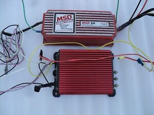 Msd 6a Ignition Box W msd Timing Box 426 Hemi chevy ford mustang