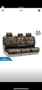 Coverking Custom Seat Covers Realtree Camo Ap Ford Super Duty Rear Seats 2014