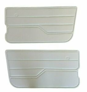 For Jeep Wrangler Yj 1987 1995 Light Grey Gray Door Panels Front Left Right
