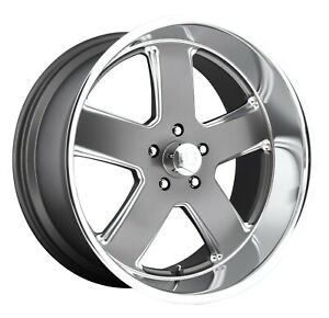 Cpp Us Mags U118 Hustler Wheels 20x8 Fits Chevy Caprice Impala Ss