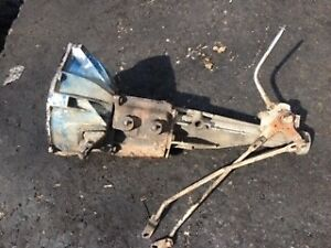 Ford Mustang 3 Speed Good Transmission W shifter And Bell Housing For 200 Six