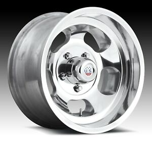 Cpp Us Mags U101 Indy Wheels 15x10 5x5 5 Polished Aluminum
