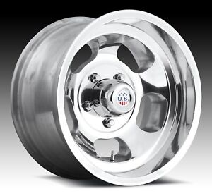 Cpp Us Mags U101 Indy Wheels 15x7 15x8 Fits Ford F100 Pickup 1948 1979 2wd