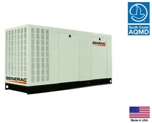 Standby Generator Commercial 130 Kw 120 240v 3 Phase Natural Gas