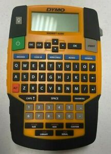 Dymo Industrial Label Maker Rhino 4200 Label Maker Excellent Condition