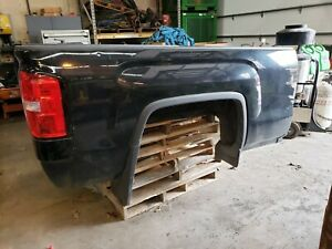 15 18 Gmc Sierra 6 6 Truck Bed box Oem Black With Tail Lights