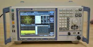 Rohde Schwarz Fsv3 Signal spectrum Analyzer 10hz 3 6ghz Opt B29 k7 k70 Good