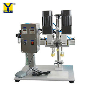 Semi automatic Bottle Screw Capping Machine Yl p Spray Head Capping Machine