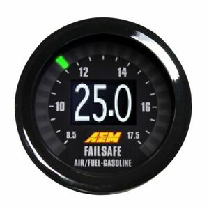Aem Electronic 30 4900 Wideband Uego Air Fuel Ratio Boost Failsafe Gauge New
