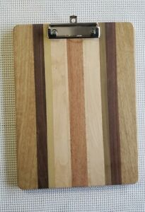 Large Clipboard Custom Handmade Exotic Wood office construction school job Site