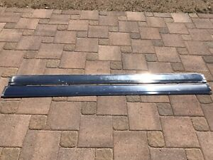1964 65 Chrysler Imperial Rocker Panel Trim Molding Stainless Chrome Mopar