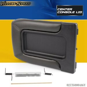 Center Console For 99 07 Chevy Silverado Oem Gm Part Lid Arm Rest Latch 19127364