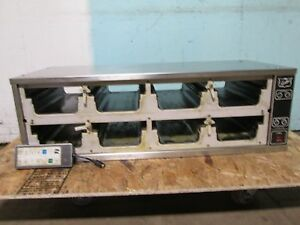 duke Fwm3 Commercial 8 Compartments Heating holding Pass Through Food Warmer