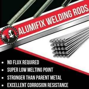 20x 50cm Welding Rods Super Melt Flux Cored Aluminum Easy Solution High Quality