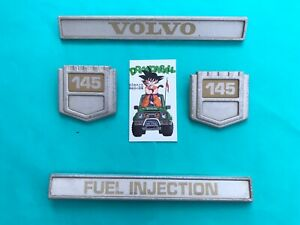 1966 1974 Volvo 145 Side Oem Emblem Badge Symbol Logo Sign Nameplate