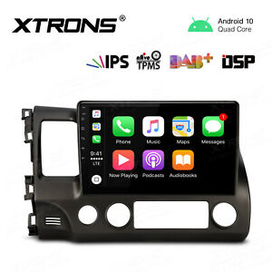 Xtrons 10 1 Android 10 0 Car Stereo Gps Radio Head Unit Dsp Obd For Honda Civic