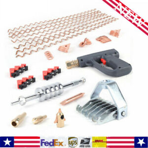 69pcs Stud Welder Dent Puller Kit Car Body Dent Spot Welding Repair Tool