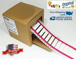 Heat Shrink Tube White 500 Printable Wire Labels For 10 2 Awg 16mm X 29mm