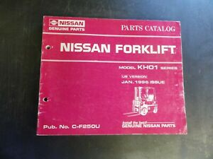 Nissan Kh01 Forklift Parts Catalog Manual C f250u