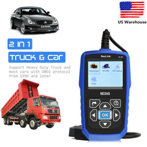 Heavy Duty Truck Diesel Scanner Obd2 Diagnostic Tool Check Engine Fuel System