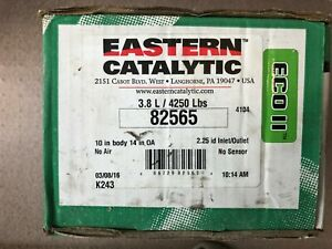 82565 Eastern Universal Catalytic Converter Eco Ii 2 25 2 1 4 Pipe 10 Body