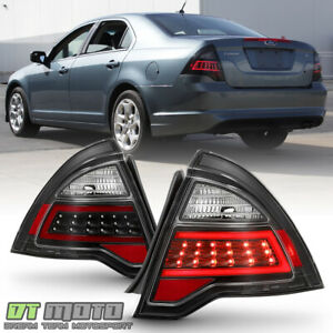 New Black 2010 2011 2012 Ford Fusion Led Light Tube Tail Lights Lamps Left right