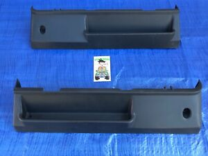 89 98 Geo Tracker Suzuki Sidekick Front Seat Trim Panel Plastic Set L R
