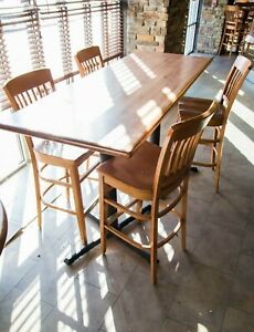 Restaurant Commercial Grade Maple Table Top 30 X 72 By Woods Goods Wisconsin