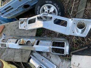 1971 1972 71 72 Cutlass Or 442 Front Bumper Core Supreme Oldsmobile Olds Oem