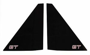 Pontiac Fiero New Rear Sail Panel Quarter Notchback Coupe Window Set Gt