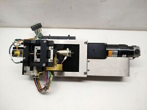 Newport Z047a Linear Translation Stage Servo Actuator W Encoder And Mount
