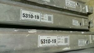 Set Of 3 Werner 5310 19 10ft L X 19 1 6in W Plywood Decked Aluma plank