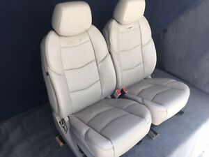 2016 2015 Escalade Or Escalade Esv Front Seats In Shale Tan Leather