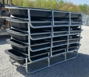 5 Ct Lot Of 10ft Bunk Feeder For Goats sheep cattle horses deer