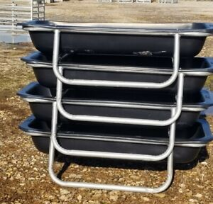 4 Ct Lot Of 5ft Bunk Feeder For Goats sheep cattle horses deer
