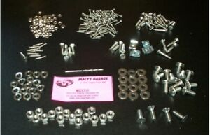 Triumph Tr2 Ss Interior Hardware Kit Mcy110