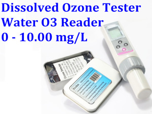 Dissolved Ozone Tester Portable O3 Water Reader Analyzer Tester 0 10 00 Mg l