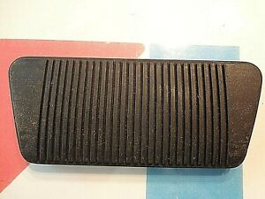 Am Amc American Motors Jeep Rambler Nos New Old Stock Brake Pedal Black Rubber