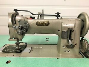 Pfaff 546 2 needle Walking Foot 5 8 Rev 110v Servo Industrial Sewing Machine