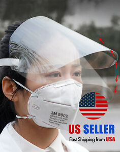 Protective Clear Face Shield Medical Dental Service Mask Flip up Protector Ppe